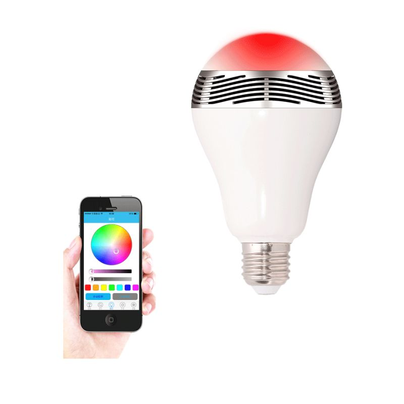 LED Bulb with Bluetooth and Built-In Speaker : Buy Portable Speakers