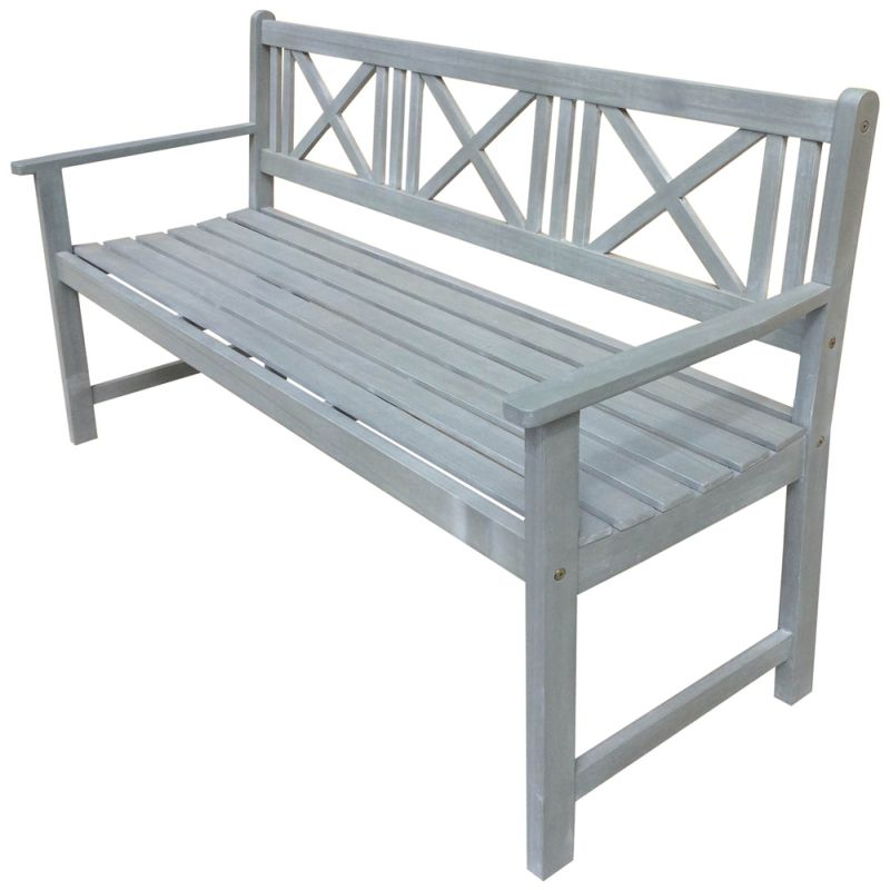 Newport 3 Seater Grey Washed Timber Outdoor Bench Buy  : LONEWPORT3 DA GREY01 from www.mydeal.com.au size 800 x 800 jpeg 49kB