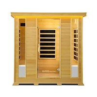 Luxo Taavi 4 Person Far Infrared Sauna