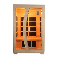 Luxo Valo 2 Person Carbon Fibre Infrared Sauna