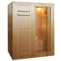 Kivi Traditional Finnish Sauna Indoor 3 Person Unit