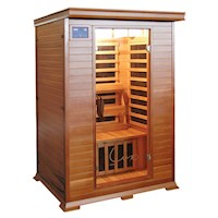 Taavi Deluxe Red Cedar Infrared Indoor Home Sauna