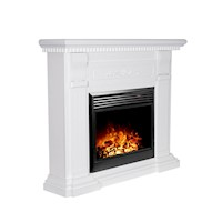 Mantel Style Electric Fireplace Heater White 1950W