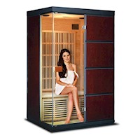 Melko 2 Person Indoor Carbon Fibre Infrared Sauna