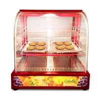 Momi Commercial Pie and Food Warmer Showcase 125L