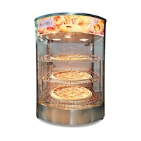 Momi Commercial Pie and Food Warmer Showcase 42L