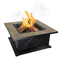 Berlin Outdoor 2 in 1 Fire Pit & BBQ Grill 36 Inch
