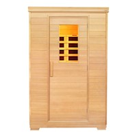 2 Person Carbon Fibre Infrared Sauna with Window