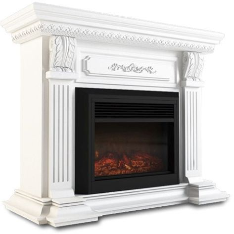 Mantel Style Electric Fireplace Heater White 1950w Buy