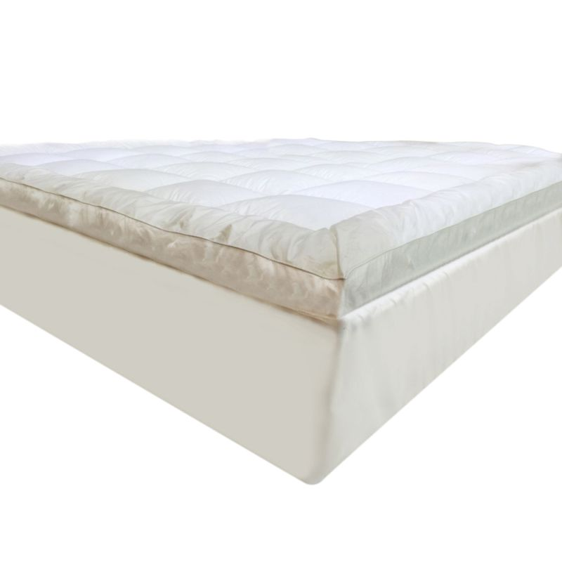 Luxo King Microfibre Pillow Top Mattress Topper Buy King Size Mattress Toppers