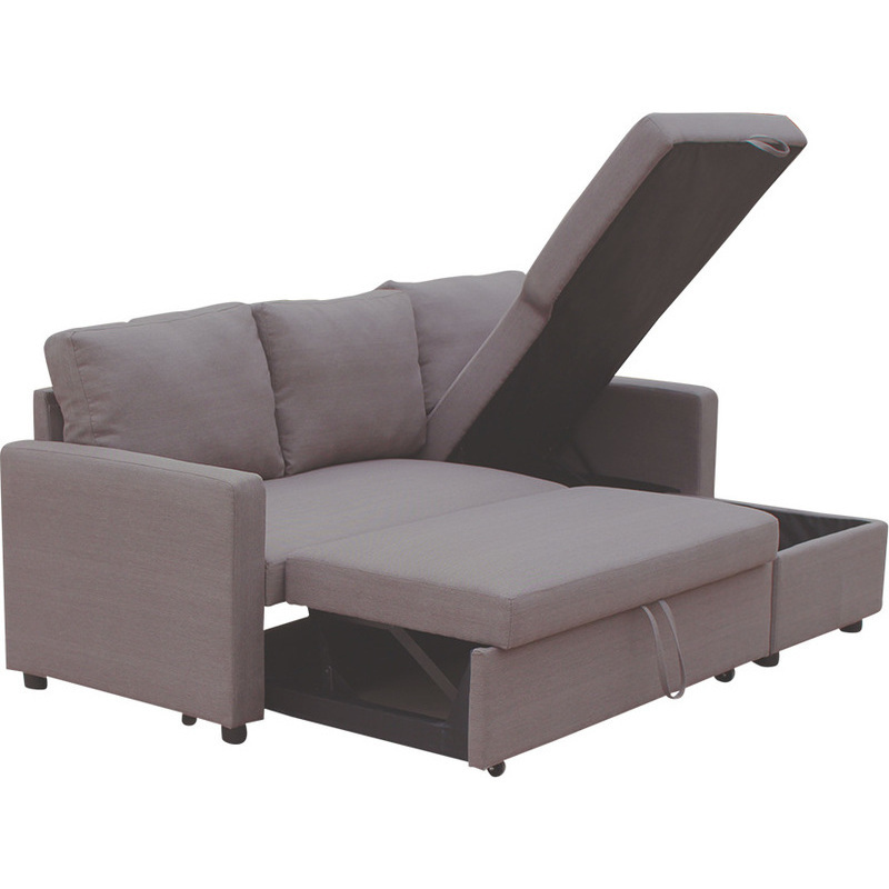 Merton reversible 3 seat chaise lounge sofa brown buy sofas for 3 seater chaise lounge
