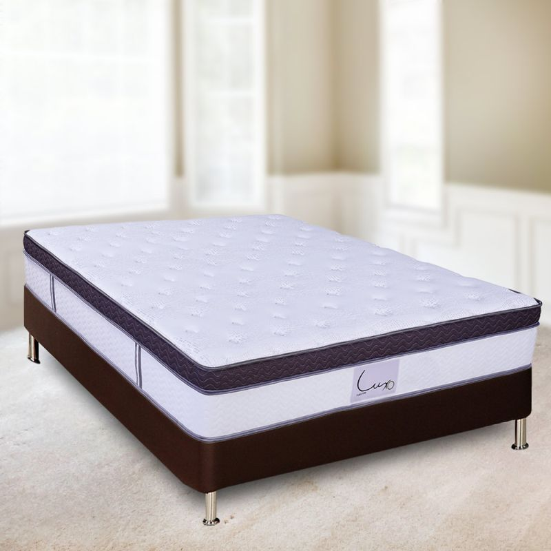 Hera Queen Latex Euro Top Pocket Spring Mattress Buy Queen Mattress