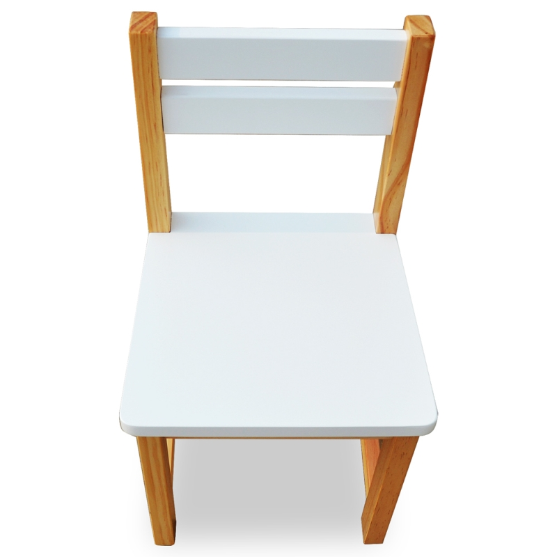 Luxo Tonto Square Kids Table And Chair Set White Buy