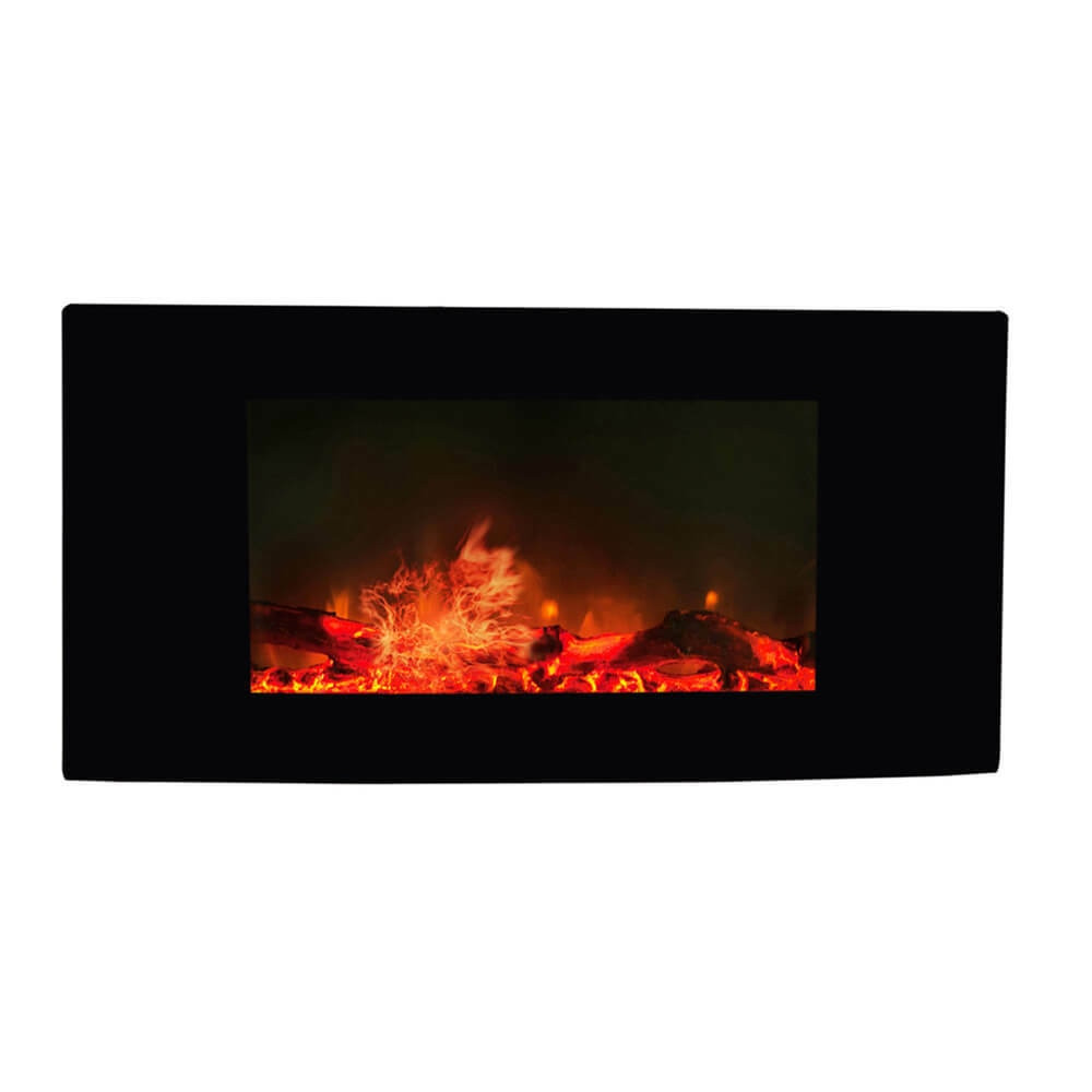 Luxo Mariette Wall Mounted 36 Inch Electric Fireplace
