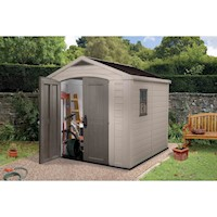 Keter Factor Outdoor Storage Garden Shed 8x8ft