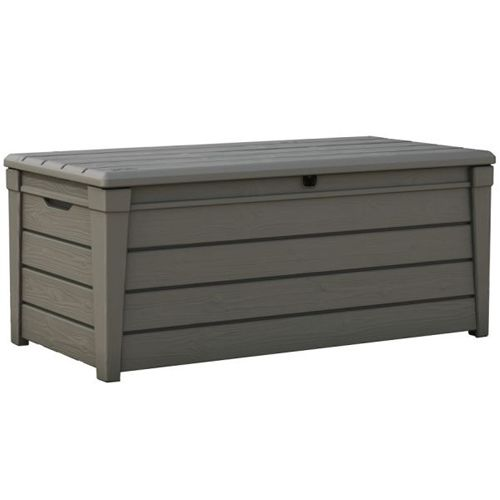Keter Brightwood Outdoor Garden Storage Bench Box Buy Outdoor Storage Boxes
