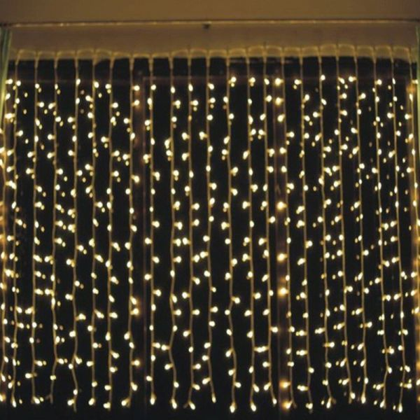 outdoor garden led curtain fairy lights 4 colours buy. Black Bedroom Furniture Sets. Home Design Ideas