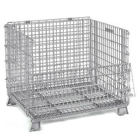 Stillages Collapsible Stackable Folding Wire Mesh
