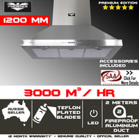 Commercial Grade Range Hood Canopy Wall Mount