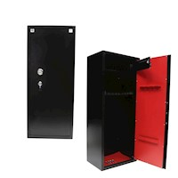 14 Rifle Storage Steel Gun Safe w/ Ammo Lock Box