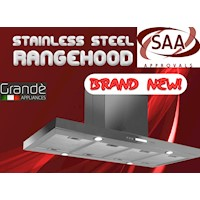 Commercial Stainless Steel Canopy Rangehood 1200mm