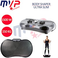 Ultra Slim Body Shaper Vibrating Machine in Black