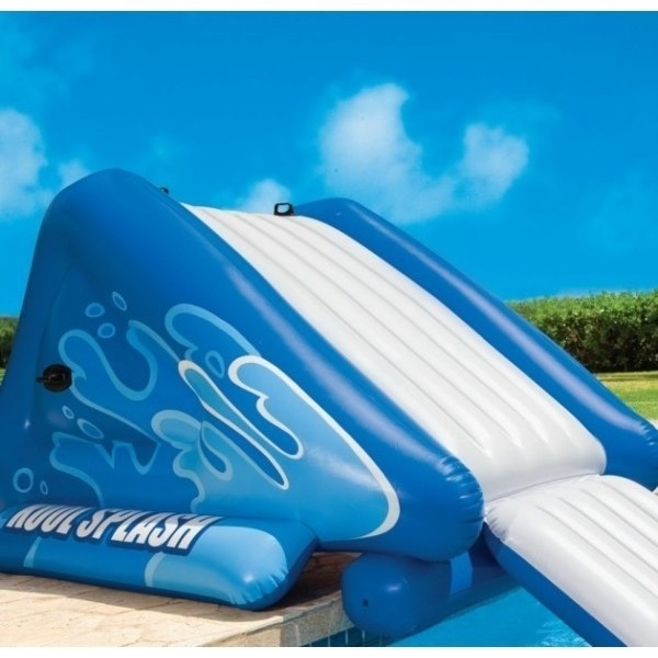 Intex Giant Inflatable Pool Water Slide W Pump Buy