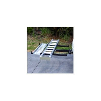 Car Tow Bar Motorbike Carrier Rack and Ramp 400lb