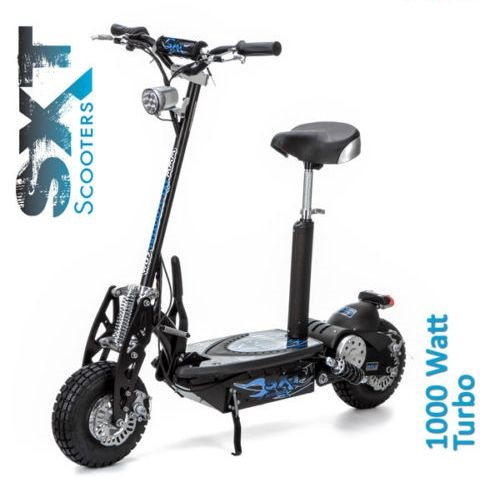 sxt 1000w foldable turbo electric motorized scooter buy. Black Bedroom Furniture Sets. Home Design Ideas