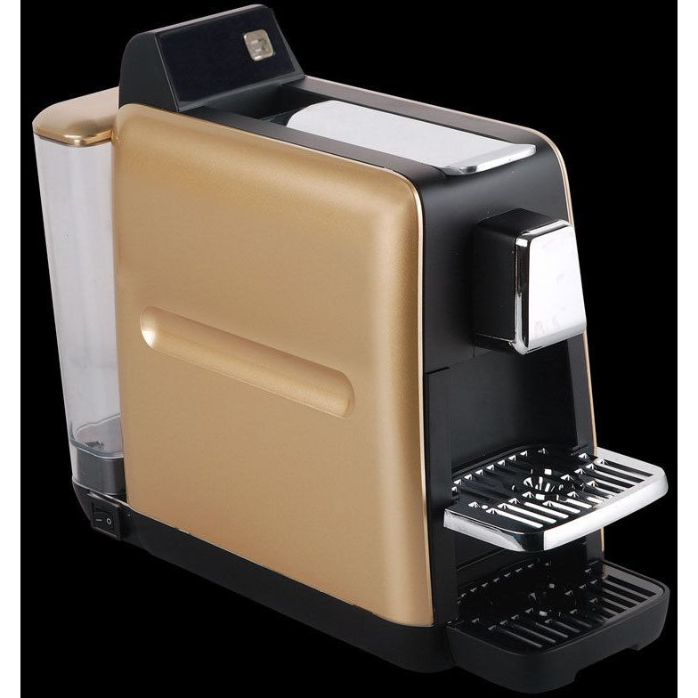 Pod Coffee Machine For Nespresso Pods In Gold Buy