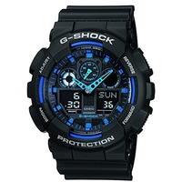 Casio G-Shock Black & Blue Extra Large Men's Watch