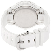 Casio Baby G Resin Steel Womens Watch in White Gold