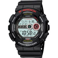 Casio G-Shock Mens Watch Black Digital GD-100-1ADR