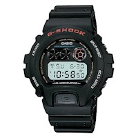 Casio G-Shock Mens Watch Black Digital DW-6900-1VDR