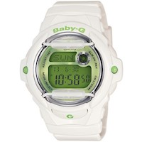 Casio Baby G White Resin Women's Watch BG-169R-7CDR