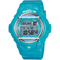 Casio Baby G Blue Digital Ladies Watch BG-169R-2B
