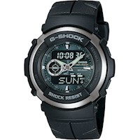 Casio G-Shock Mens Watch Black/Green G-300-3AVDR