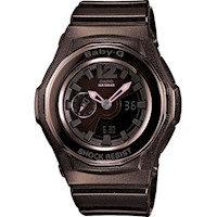 Casio Baby-G Ladies Watch Brown Resin BGA-141-5BDR