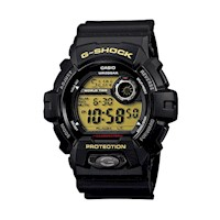 Casio G-Shock Men's Black & Yellow Digital Watch