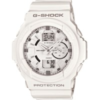 Casio G-Shock Mens Watch White Resin GA-150-7ADR