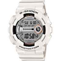 Casio G-Shock Mens Watch White and Black GD-110-7DR