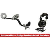 Bounty Hunter Discovery Metal Detector & Headphones
