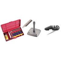 Prof. Knife Sharpener Kit w/ U-Mount, S-Hone & PS