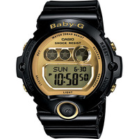 Casio Baby-G Digital Black Female Ladies Watch