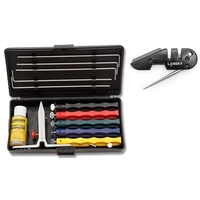 Lansky Deluxe Knife Sharpener Kit with Pocket Set
