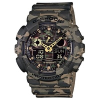 Casio G-Shock Men's Camouflage Watch in Green