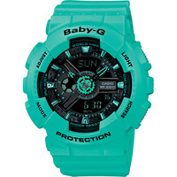 Casio Baby-G Metallic Women's Watch in Black Green