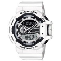 Casio G-Shock Men's Watch in White GA-400-7ADR