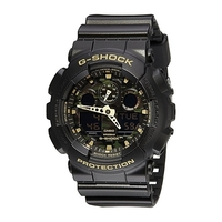 Casio G-Shock Men's Watch - Camouflage Black / Gold