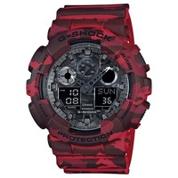 Casio G-Shock Men's Watch in Camouflage Red
